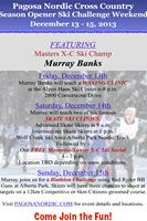 Wolf Creek Ski Skate Clinic with Murray Banks