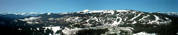 Panoramic view of Wolf Creek