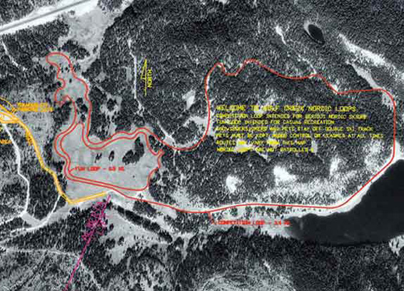 Wolf Creeek Cross Country Nordic Ski Terrain